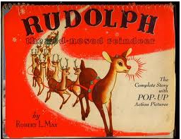 Rudolph book by Bob May