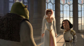 Shrek stops wedding